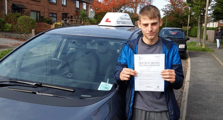 Want to pass your test? Learn to drive with Chris